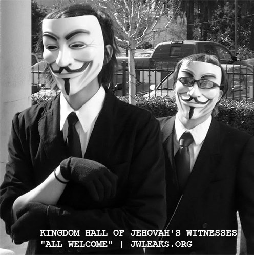 anonymous visits a kingdom hall