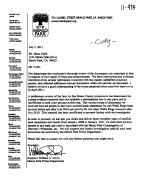 letter from City of Menlo Park to Jason Cobb