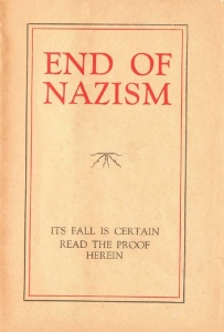 end of nazism